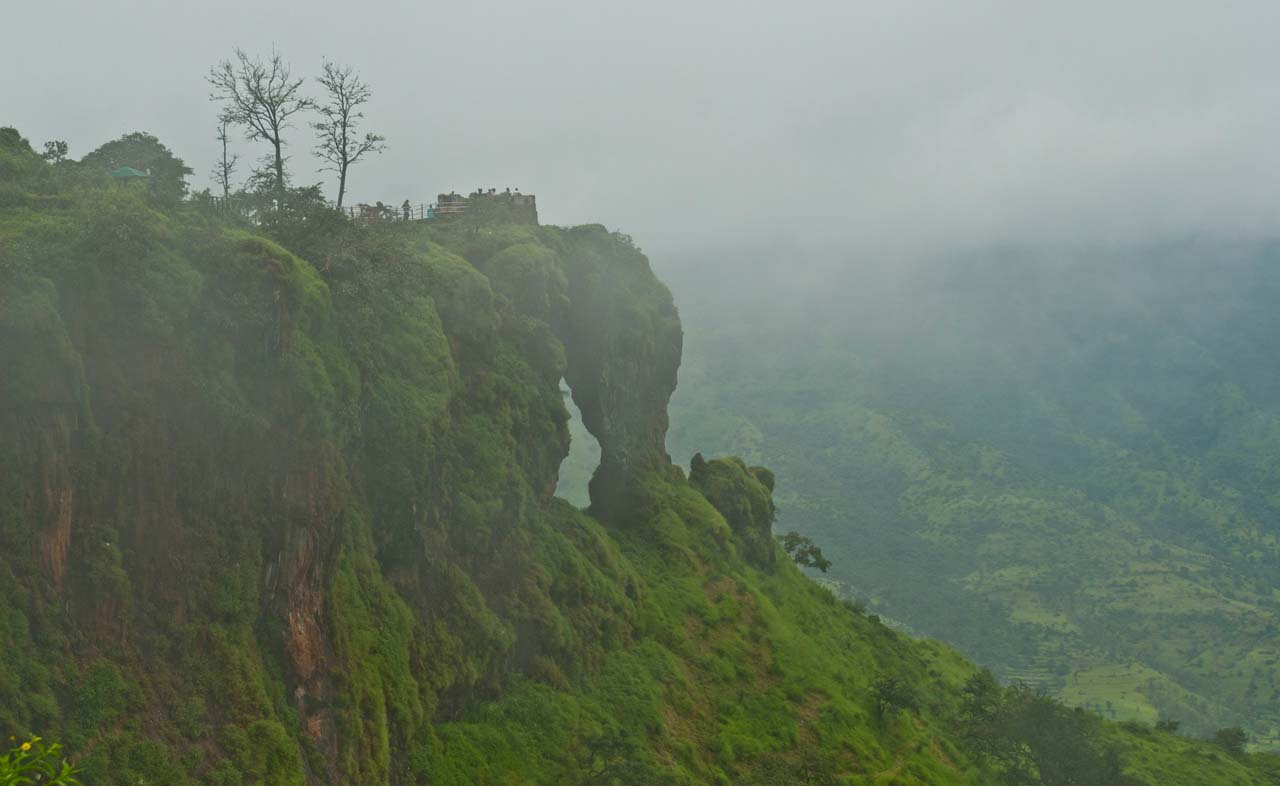 Elephant point in Mahabaleshwar and Panchgani