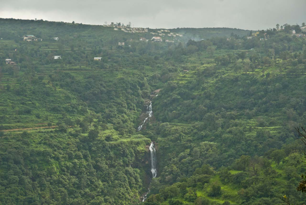 Waterfall in Mahabaleshwar and Panchgani