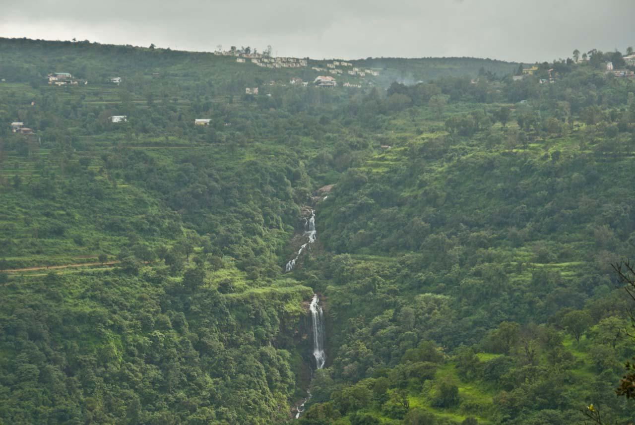 Waterfall in Mahabaleshwar and Panchgani
