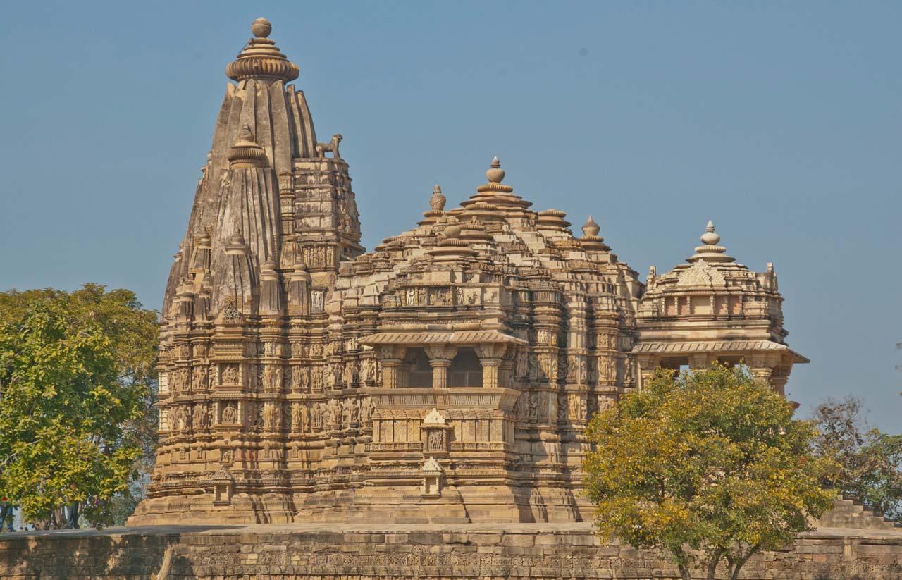 Temples of Khajuraho in Madhya Pradesh
