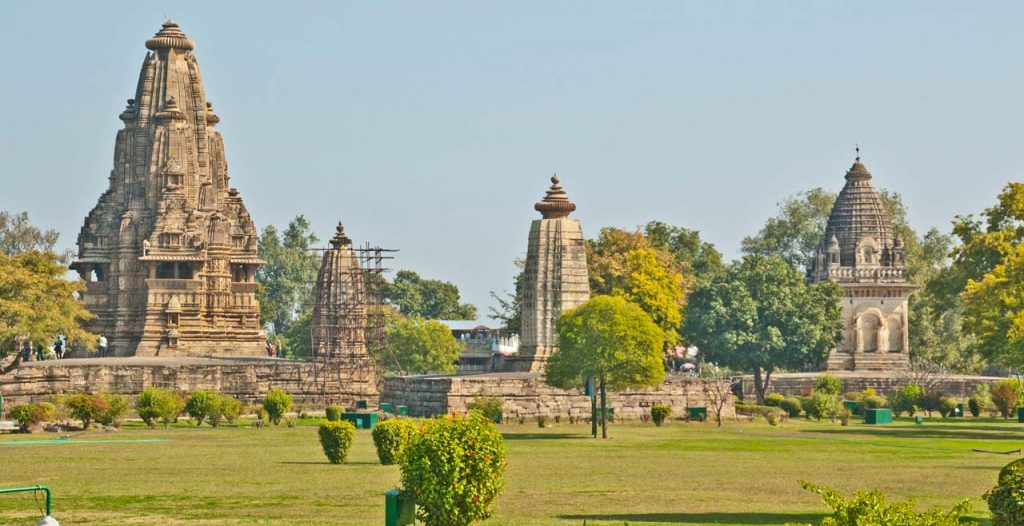Popular temples of Khajuraho group of Monuments