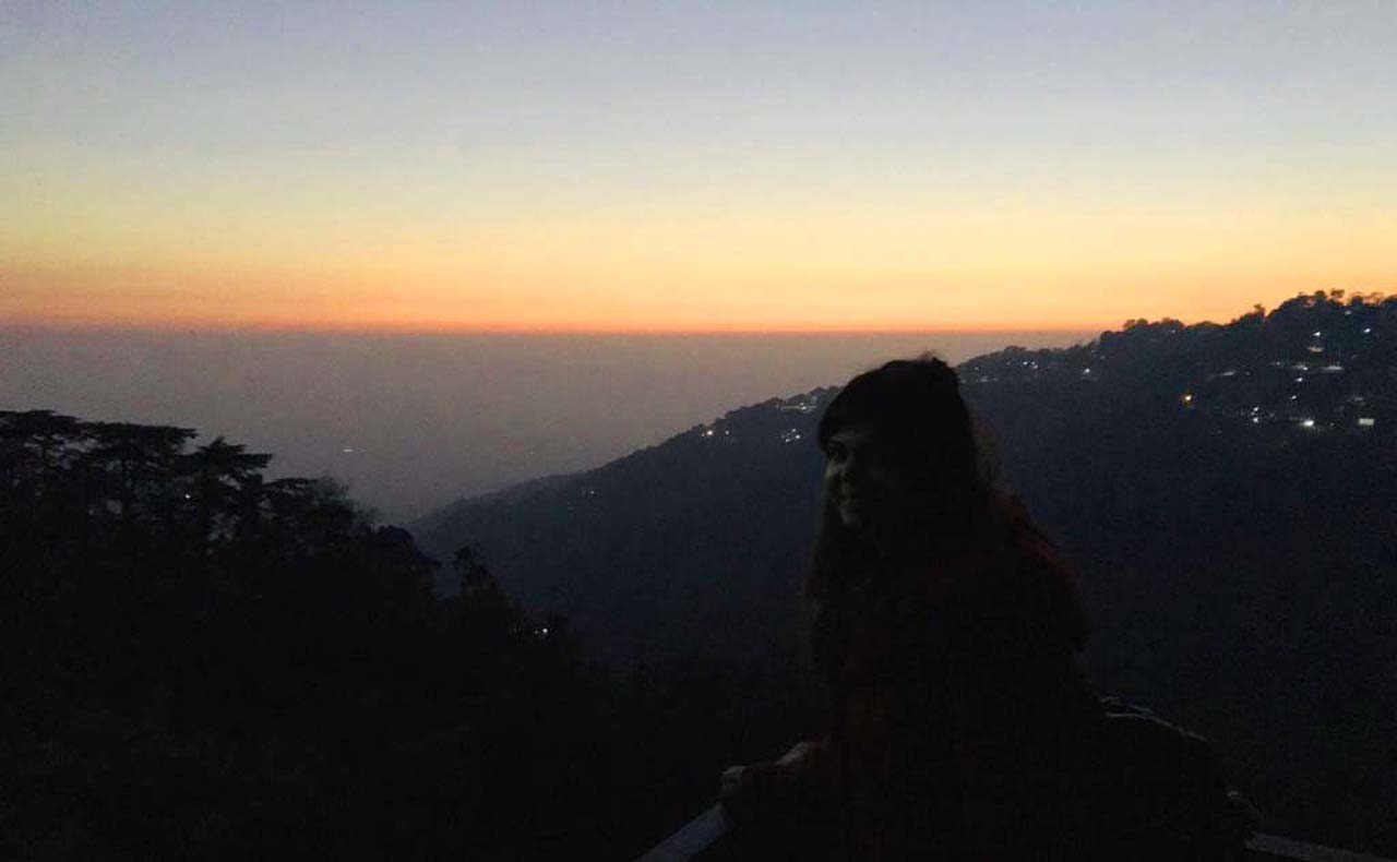 Sunset in Dharmshala