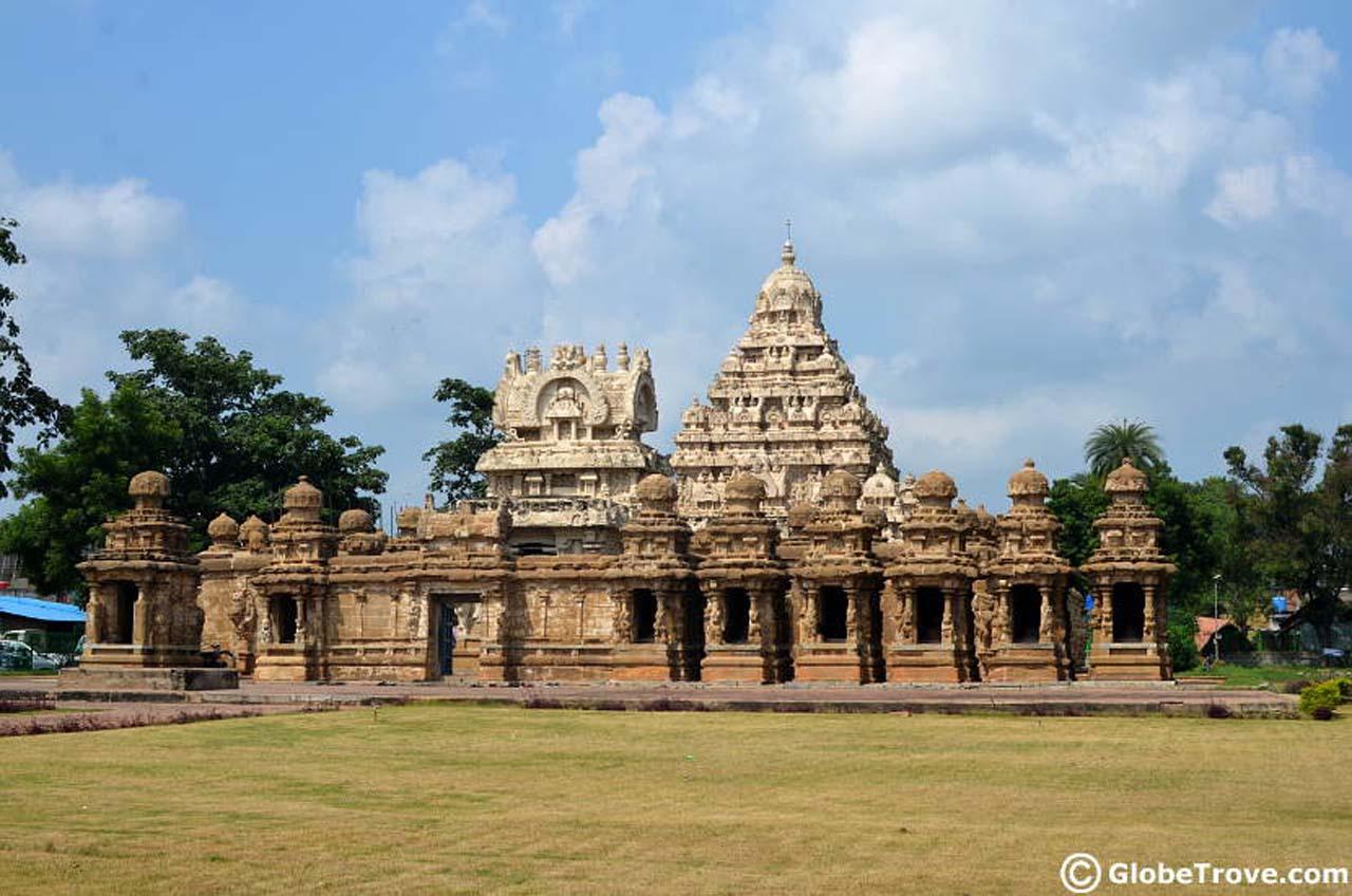 Kailasanathar-temple-view Kanchipuram
