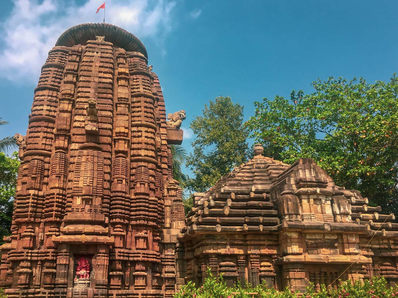 Lingaraja Temple in Bhuvneshwar, Orissa