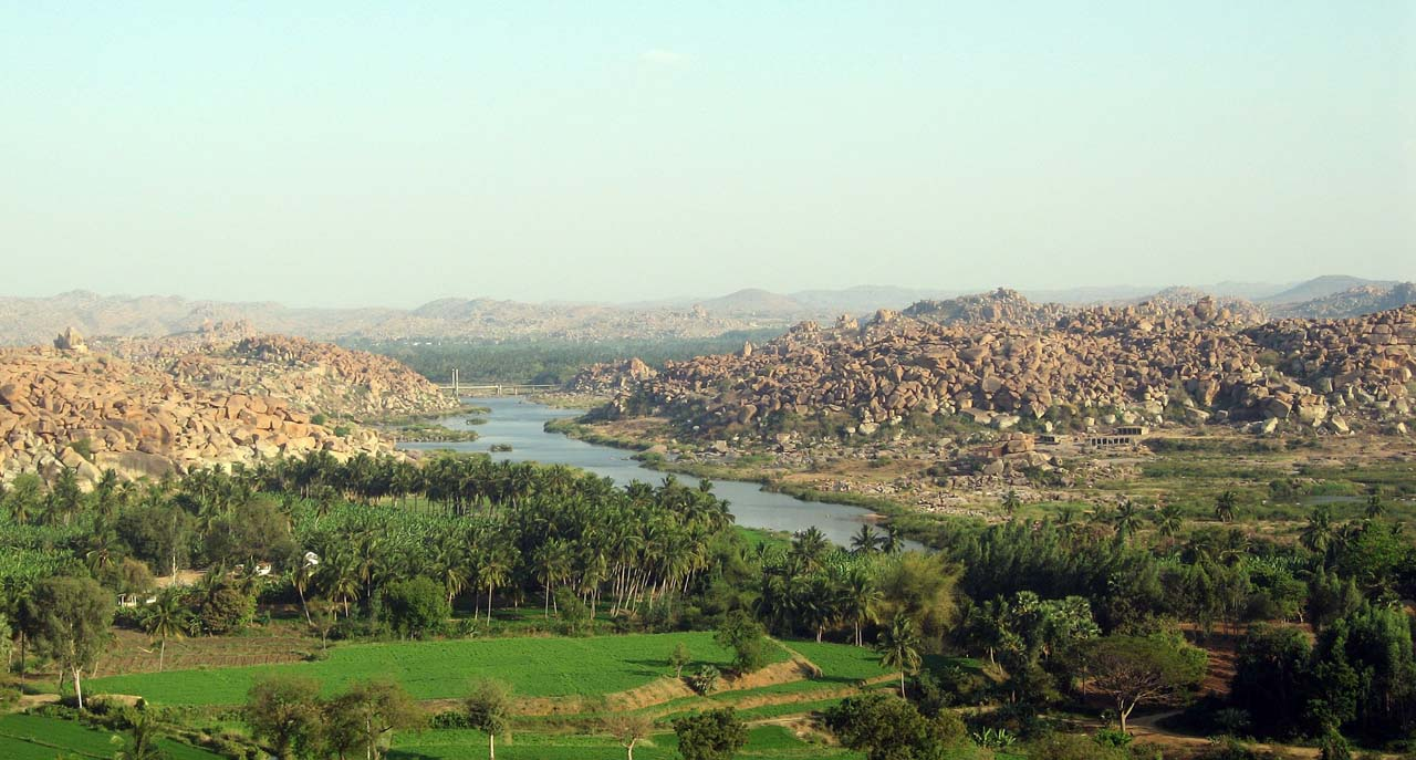 Overview of Hampi