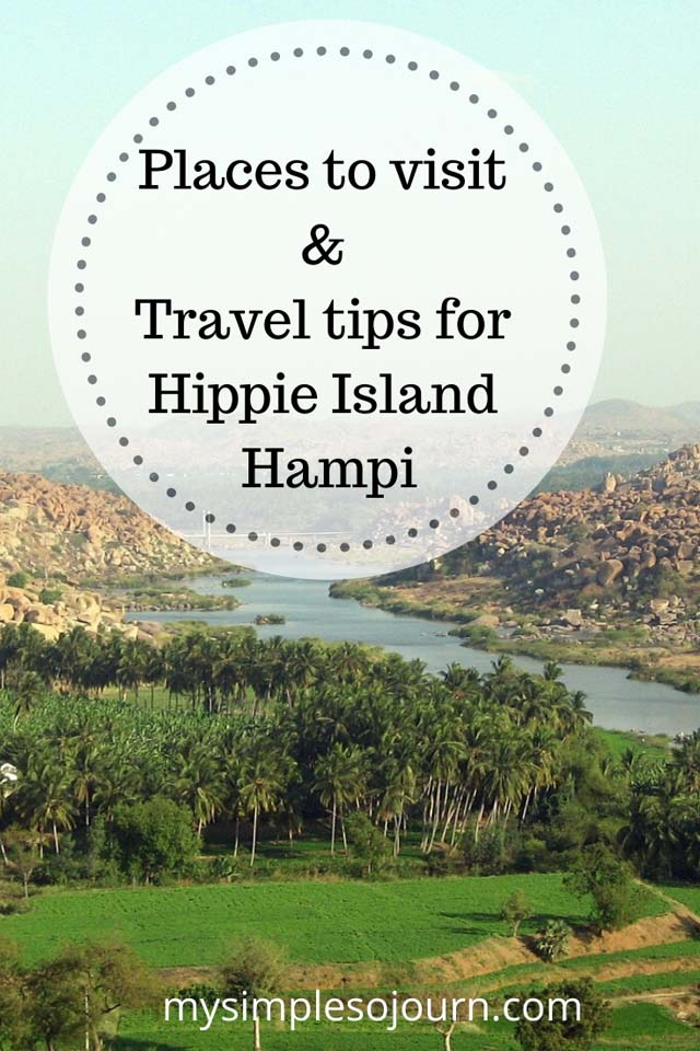 Travel tips for Hippie Island Hampi #India #hampi #hippieisland #karnataka #travel #traveltips