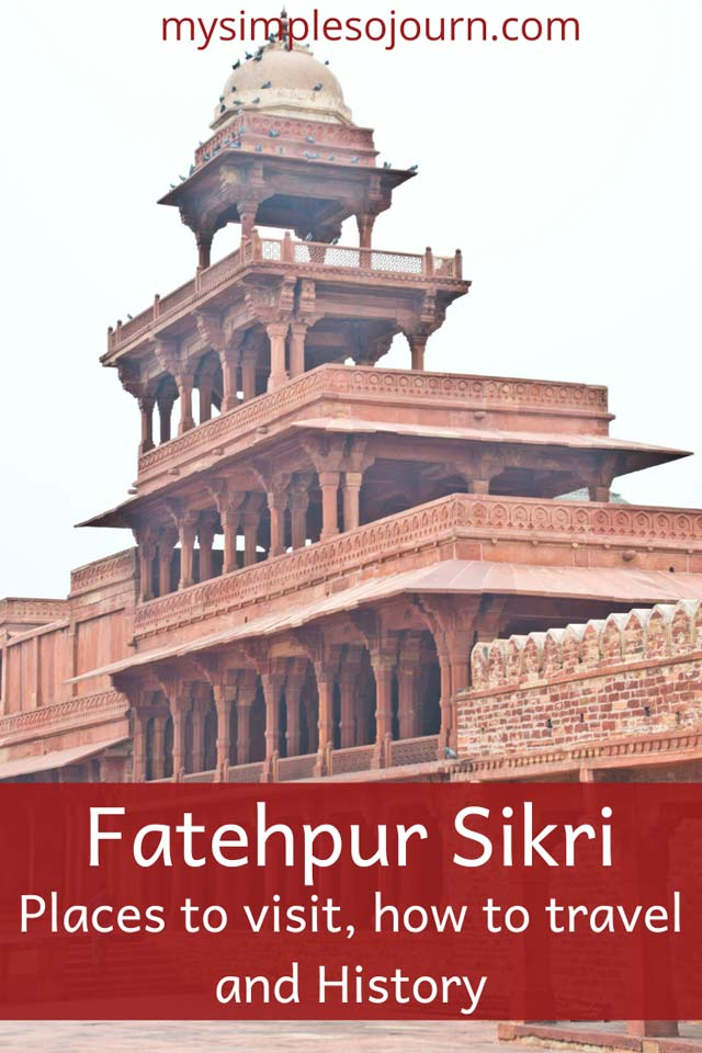 Delhi to Fatehpur Sikri, History of Fatehpur Sikri, Places to visit in Fatehpur Sikri #Incredibleindia #fatehpursikri #agra #Fort #travel #uttarpradesh #travelguide #india