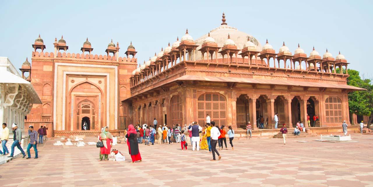 Jama Masjid in Fatehpur Sikri