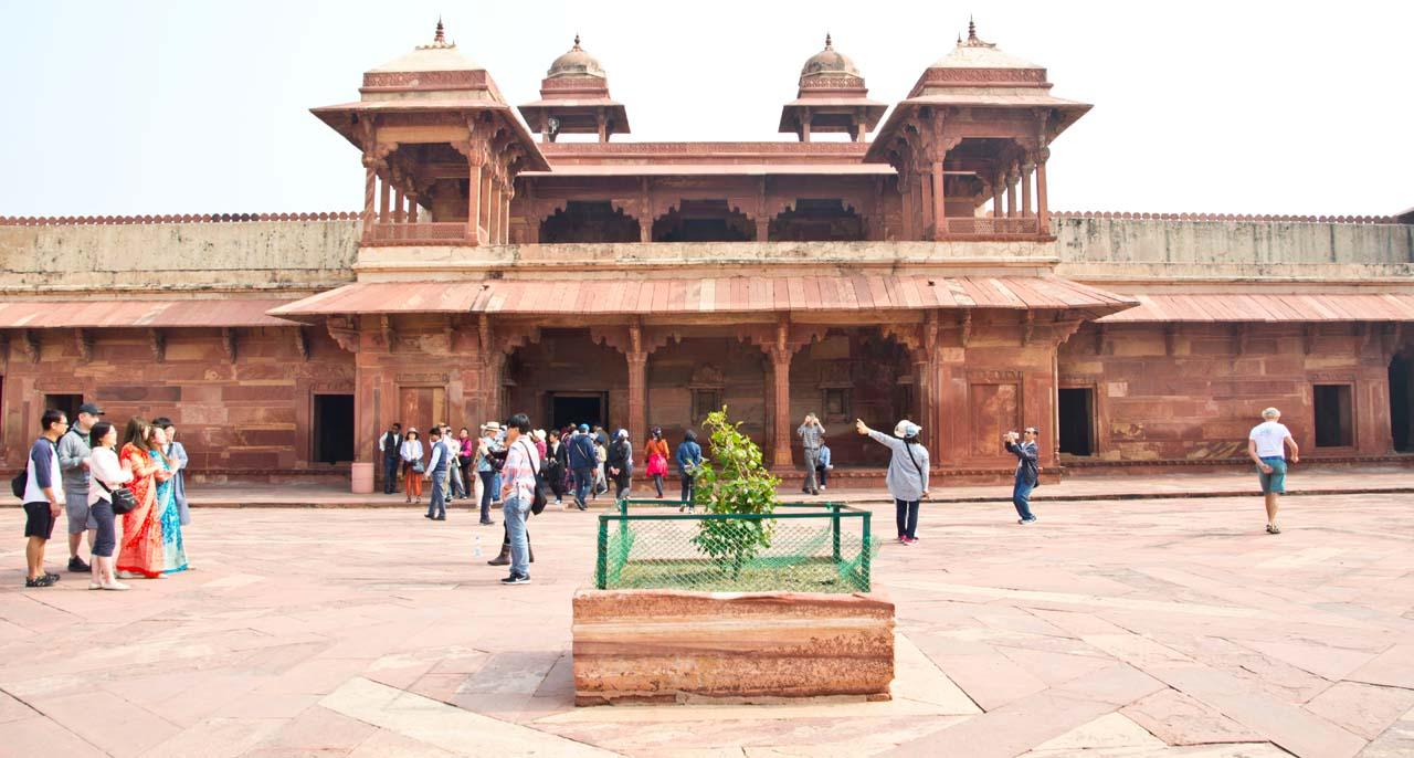 Jodha Bai Palace Fatehpur Sikri fort