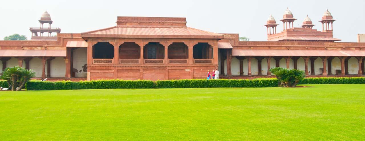 Near Gate of Fatehpur Sikri fort
