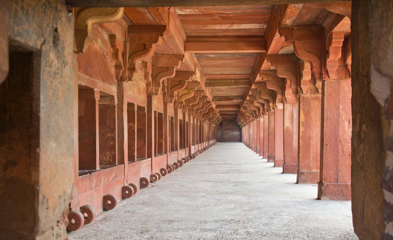 Stable in Fatehpur Sikri fort