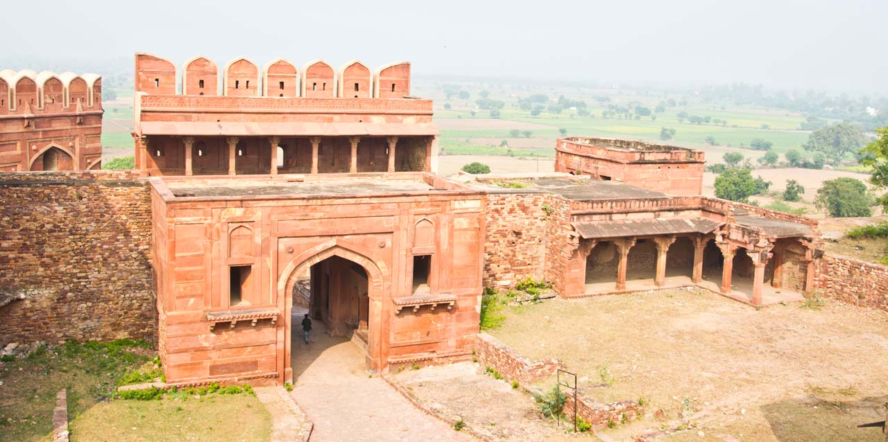 View from Fatehpur Sikri