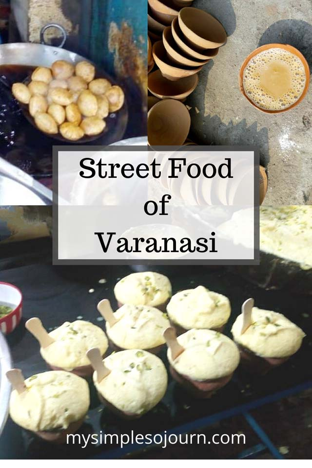 Street food of Varanasi #streetfood #varanasi #india #travel #traditionalfoodvaranasi