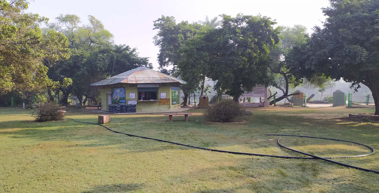 Canteen in Keoladeo national park Rajasthan