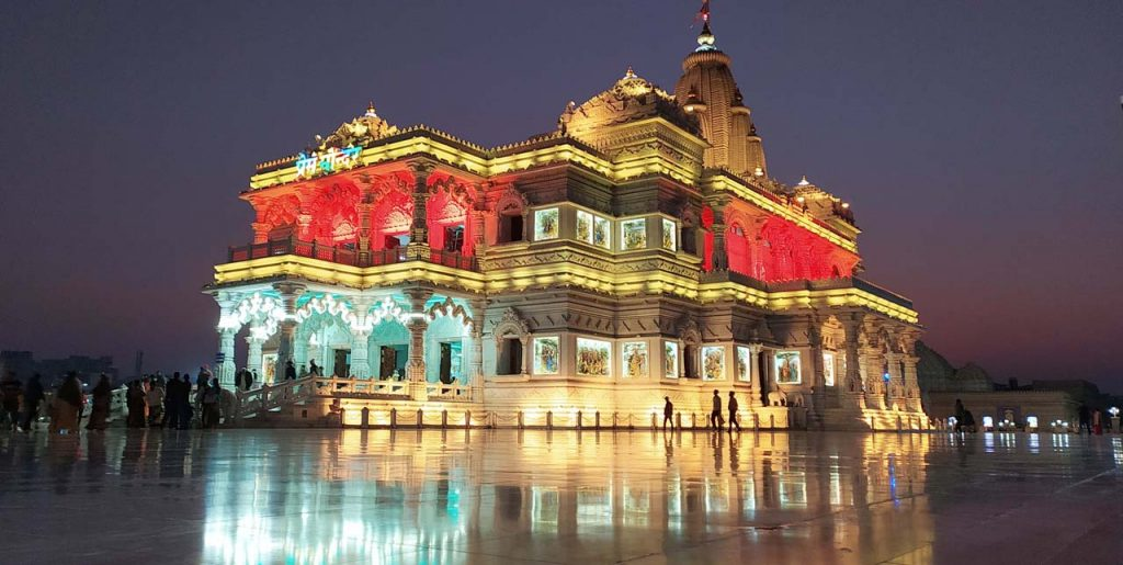 Best places to visit in Mathura and Vrindavan in a day #Vrindavan #Mathura #temples #uttarpradesh