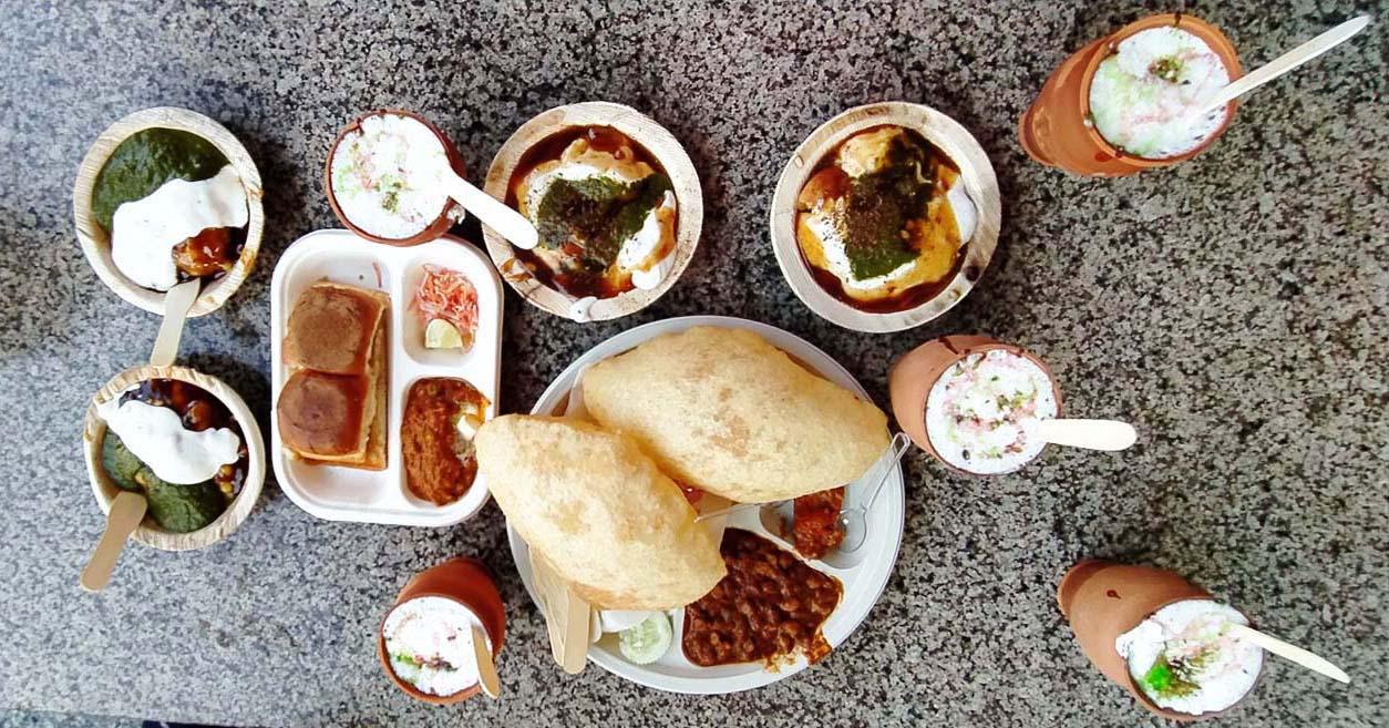 Food in Vrindavan