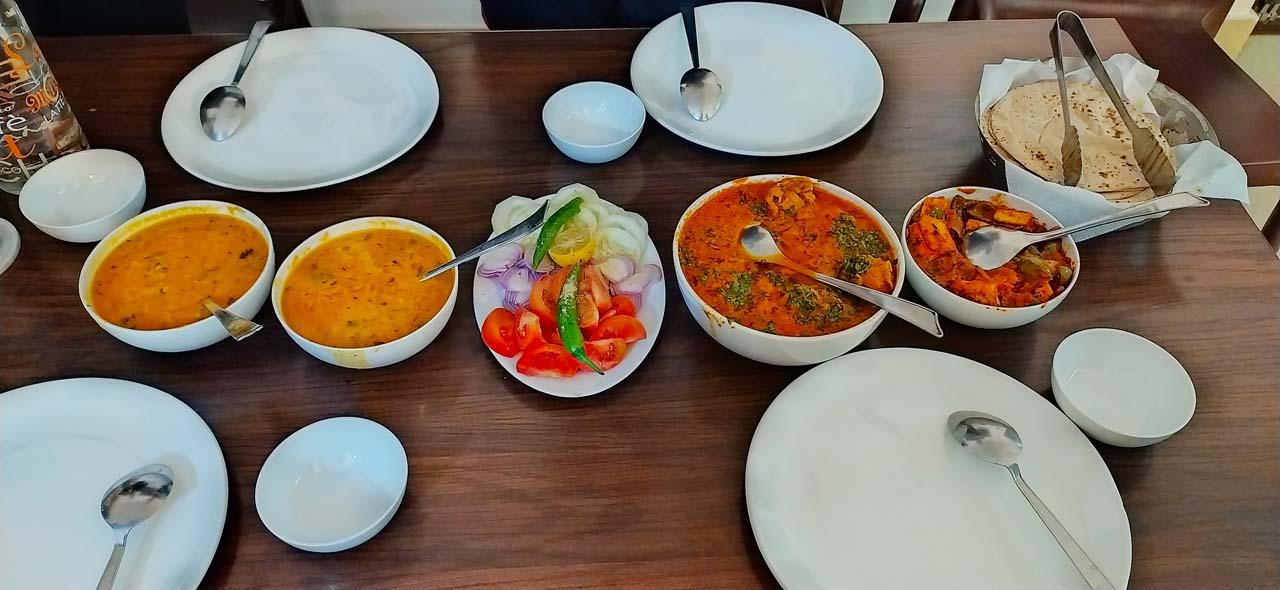 Food in Bharatpur