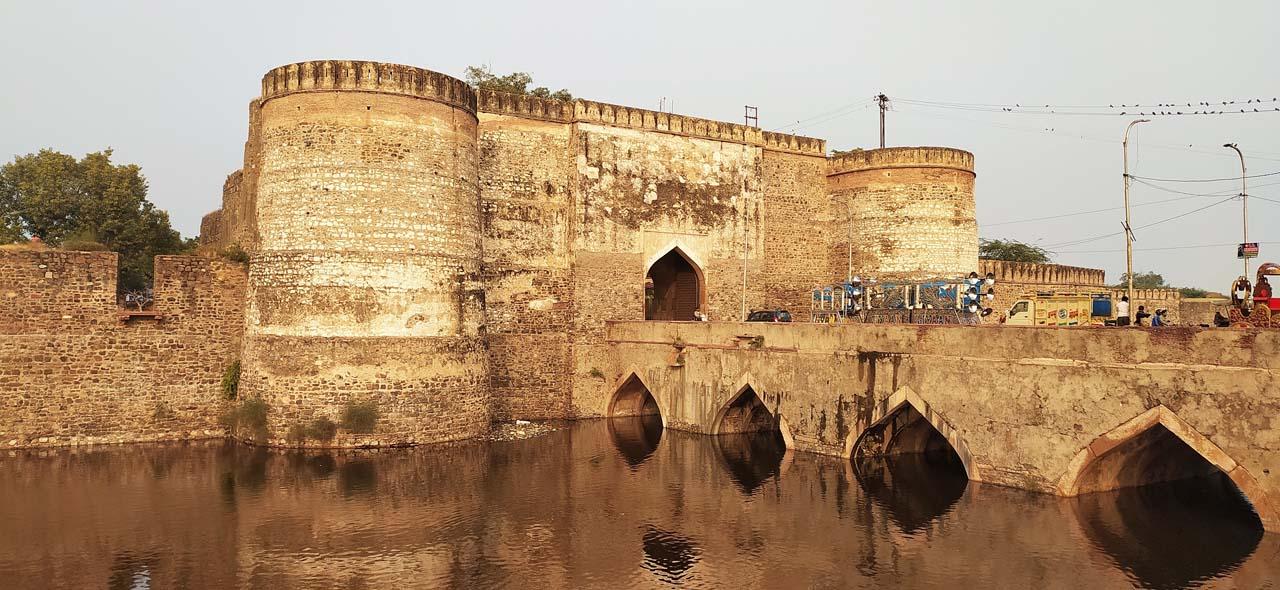 Lohagarh Fort walls