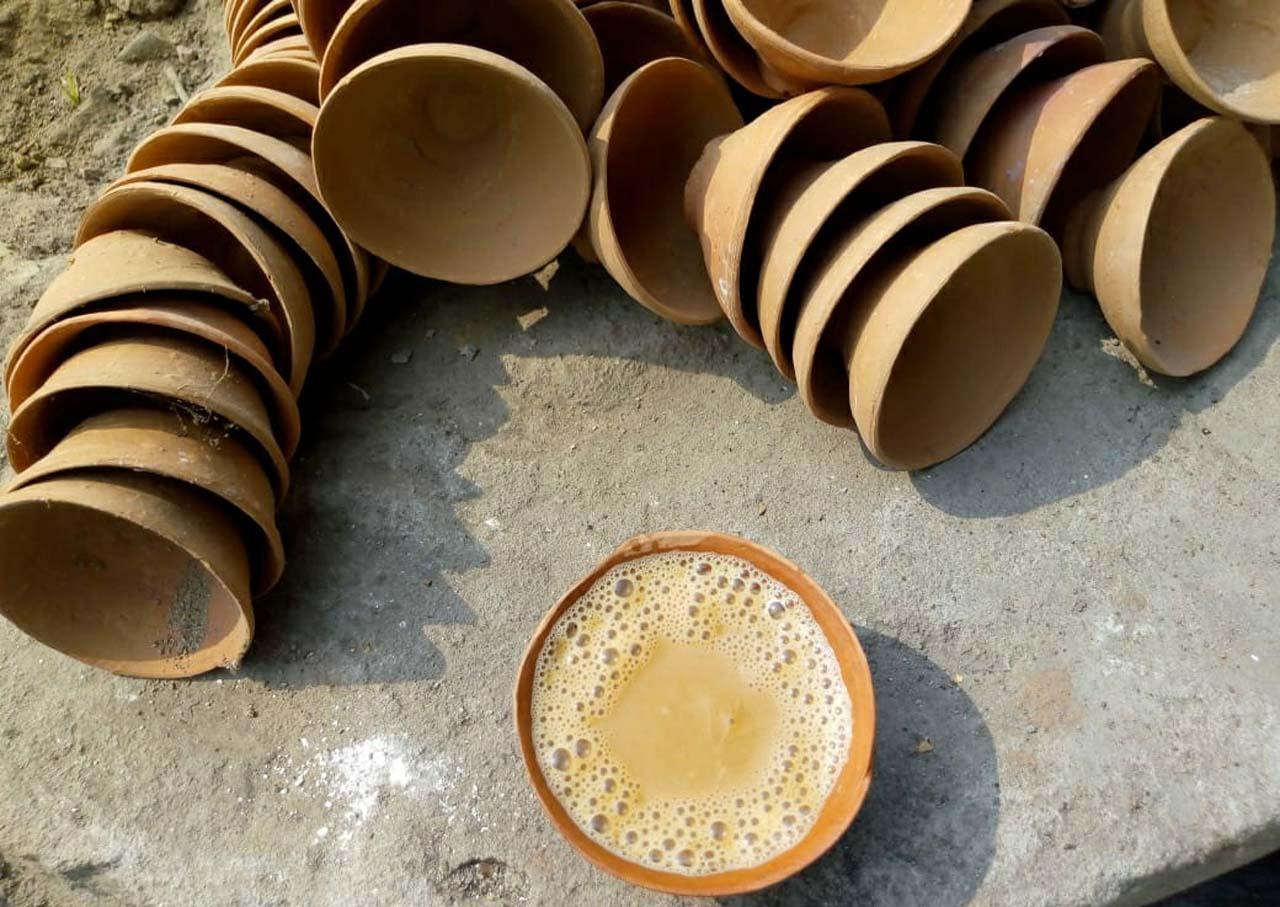 Kulhad wali chai in Varanasi