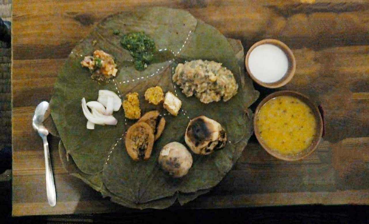 Litti Chokha in Varanasi