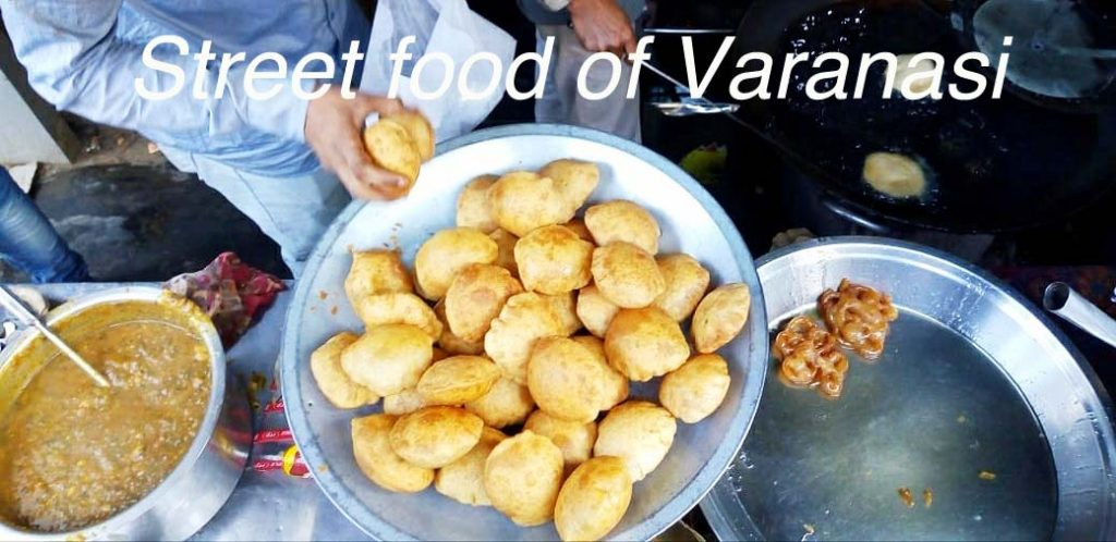 Street food of Varanasi #streetfood #varanasi #india #travel #traditionalfoodvaranasi