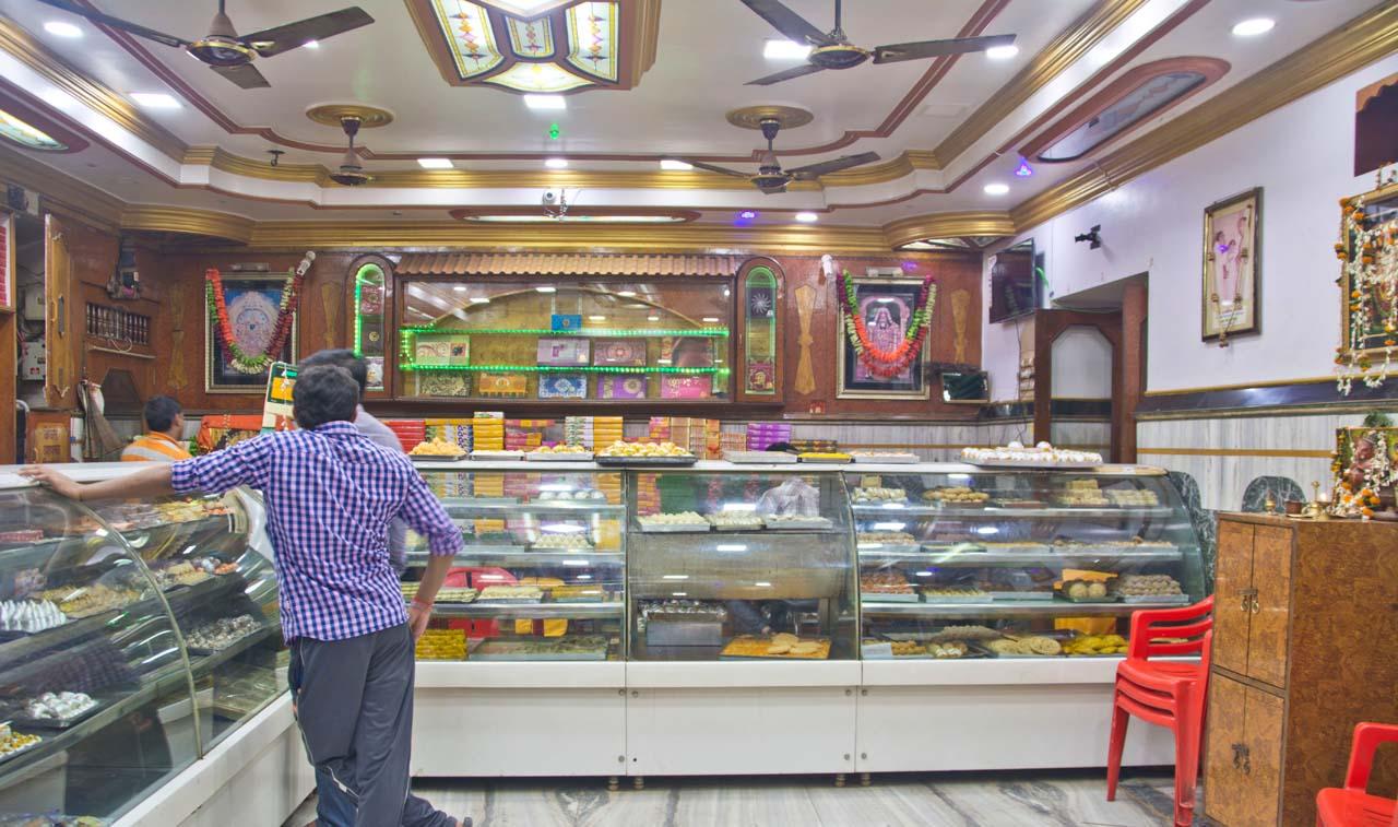 Sweet shop Varanasi