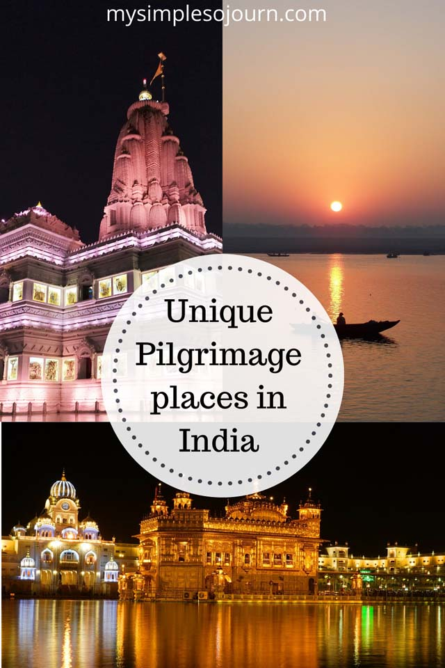 Pilgrimage sites in India for an enriching experience #pilgrimageindia #pilgrimageindia #travel #india #ethicaltravel #religiousplaces