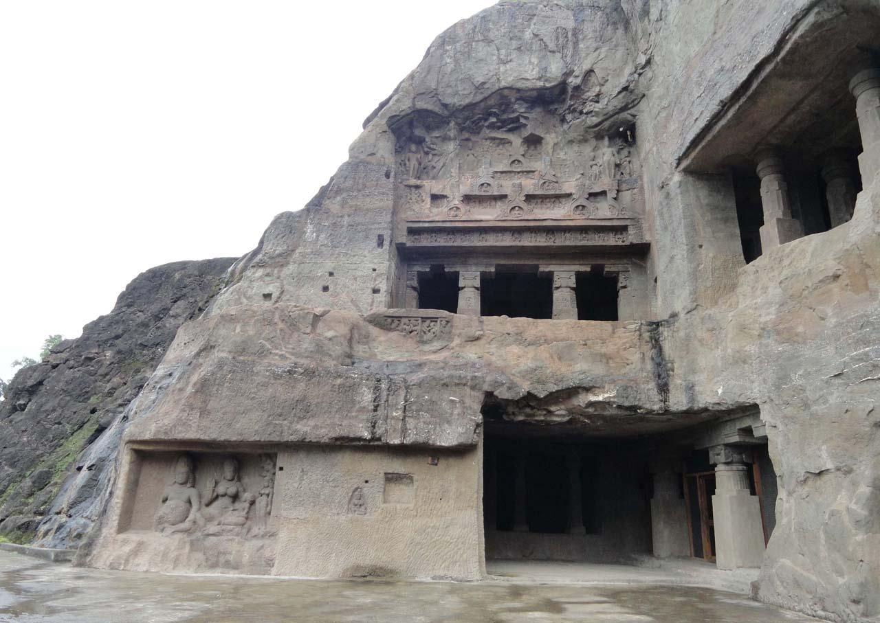 Ellora cave no 7 and 8