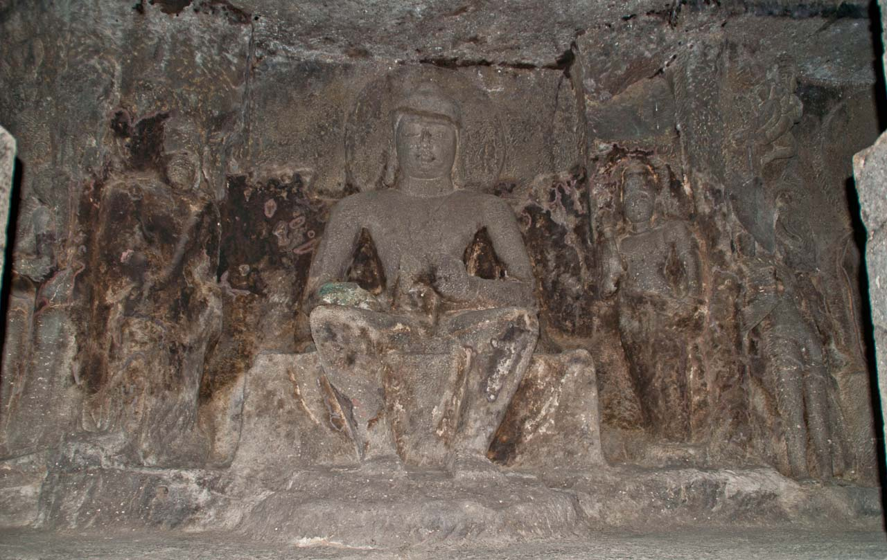 Inside Ellora caves