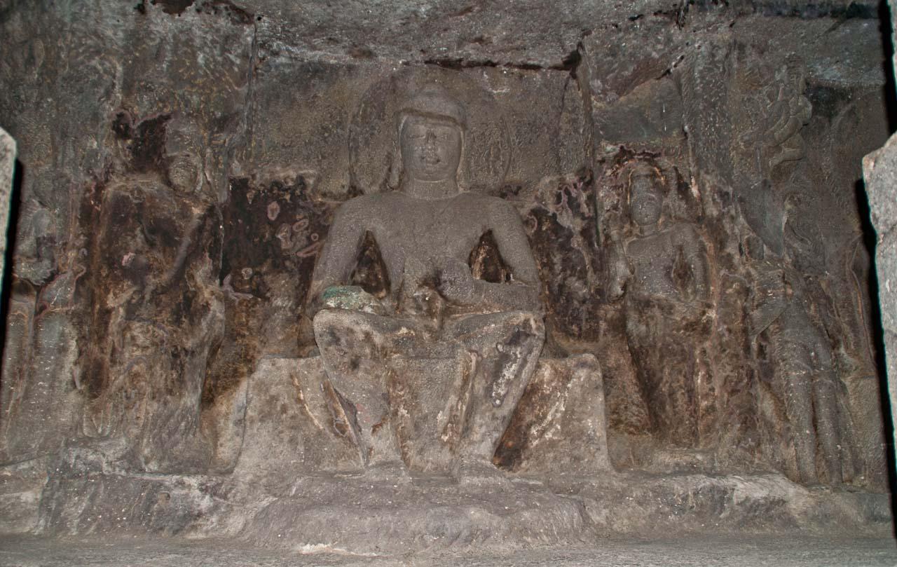 Inside Ellora caves