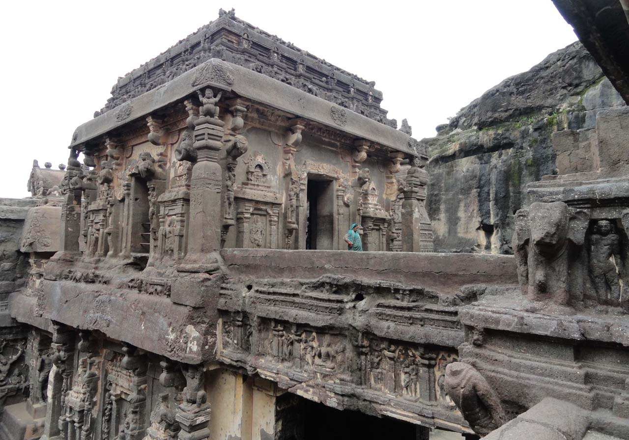 Kailasa temple cave