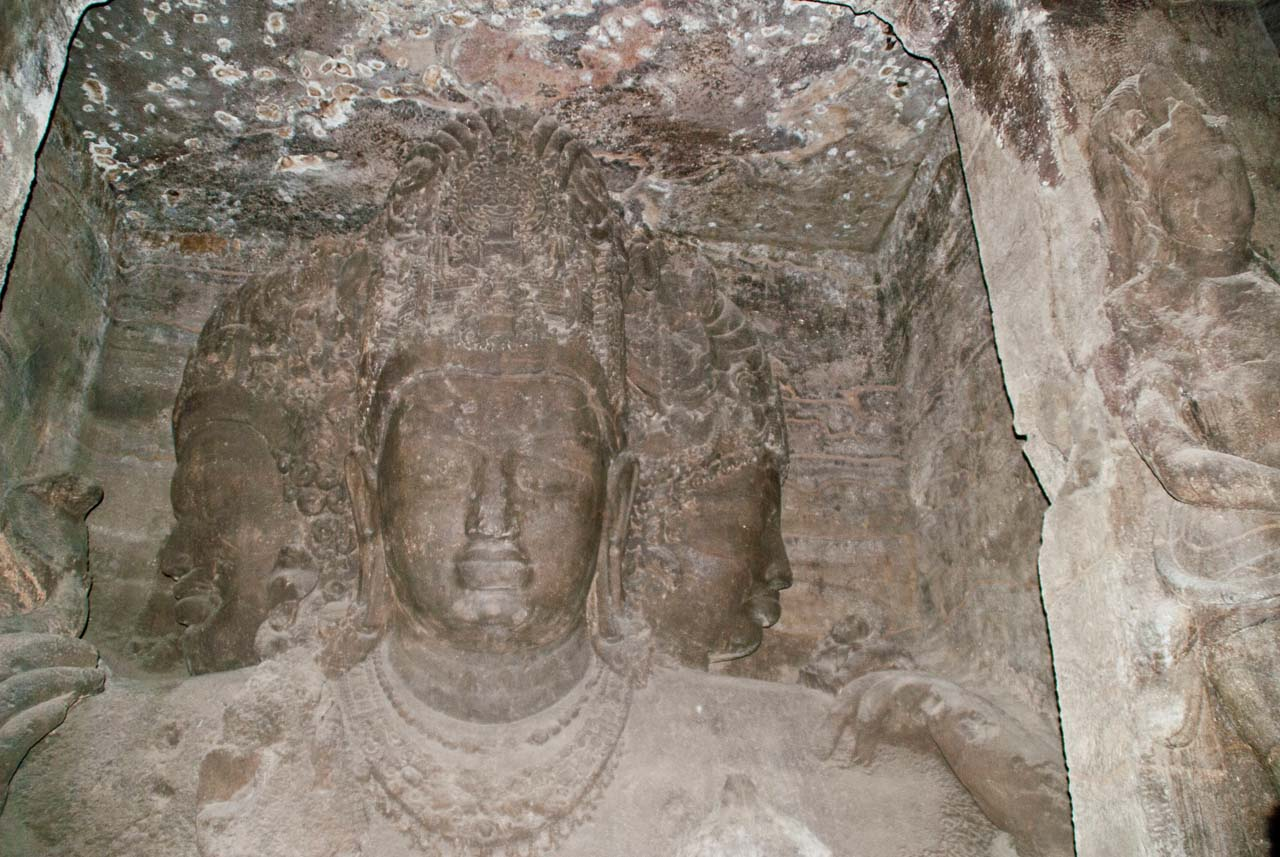 Mahesh murti in Elephanta caves