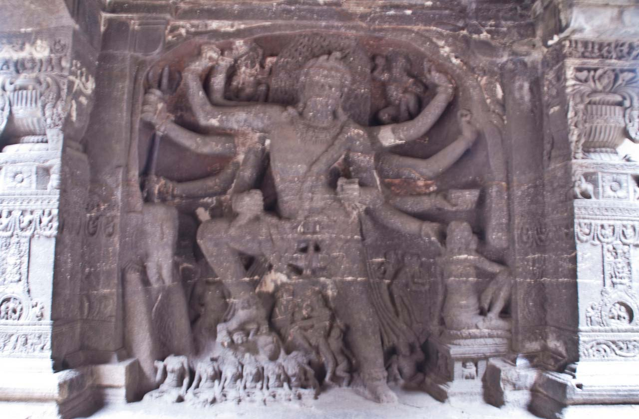 Natraj in Ellora caves